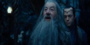 """Hey, Saruman! Whazzup! Long time no see, buddy!"""