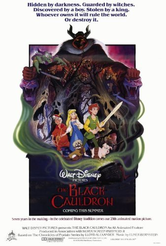 black cauldron poster