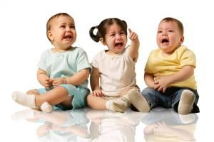 crying kiddies