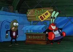 mr. krabs salad