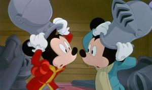 prince and the pauper mickey mouse